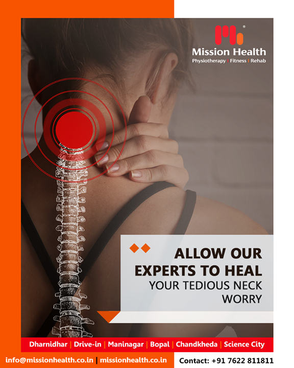Get your neck-worry healed from the experts of Mission Health!  #NeckPain #MissionHealth #MissionHealthIndia #AbilityClinic #MovementIsLife