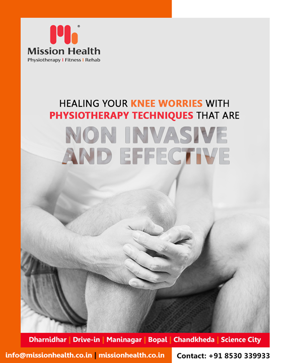 Get a fresh dimension of life by getting your knee worries healed at Mission Health!  #MissionHealth #MissionHealthIndia #physiotherapy #AbilityClinic #MovementIsLife #Rehab #BestPhysiotherapy #NonSurgicalPainManagement #KneeRehab #KneeTreatment #SuperSpecialityKneeClinic #360DegreeApproach