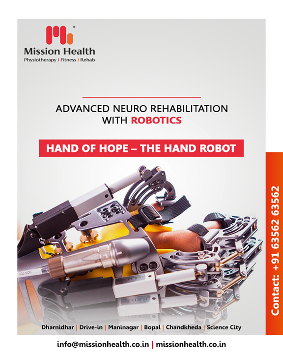 At Mission Health we vouch to provide you with the most advanced rehabilitation setup!  #RoboticsNeuroRehab #roboticsinneurophysiotherapy #neurophysiotherapy #MissionHealth #MissionHealthIndia #AbilityClinic #MovementIsLife