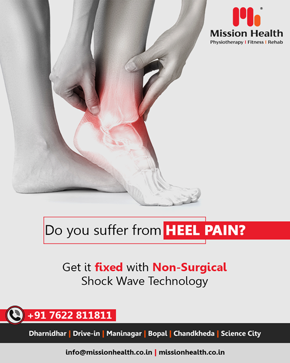 Let the foundation of your body, your HEELS function in its optimum condition! Connect for Flat foot solutions with us!   #FlatFootSolutions #MissionHealth #MissionHealthIndia #AbilityClinic #MovementIsLife