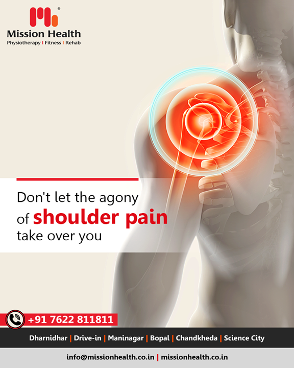 Connect with the experts to overcome shoulder pain efficiently!  #ShoulderPain #MissionHealth #MissionHealthIndia #AbilityClinic #MovementIsLife