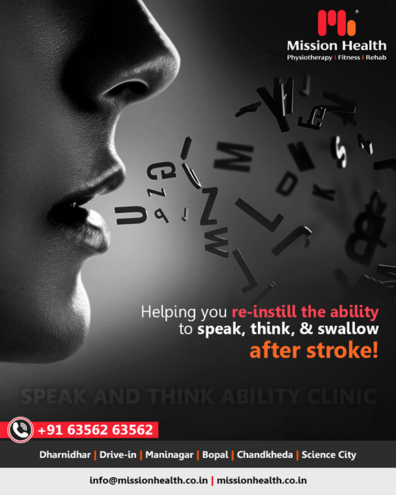 Think & Speak Ability Clinic is focused on the recovery of patients with the most severe conditions affecting the fundamental functions of the human brain like orientation, arousal, awareness, perception, information-processing and thinking, planning a course of actions, communication, memory, and learning.    #MissionHealth #MissionHealthIndia #MovementIsLife #NeuroRehab #Neuroplasticity #abilityclinic #speakandthinkclinic