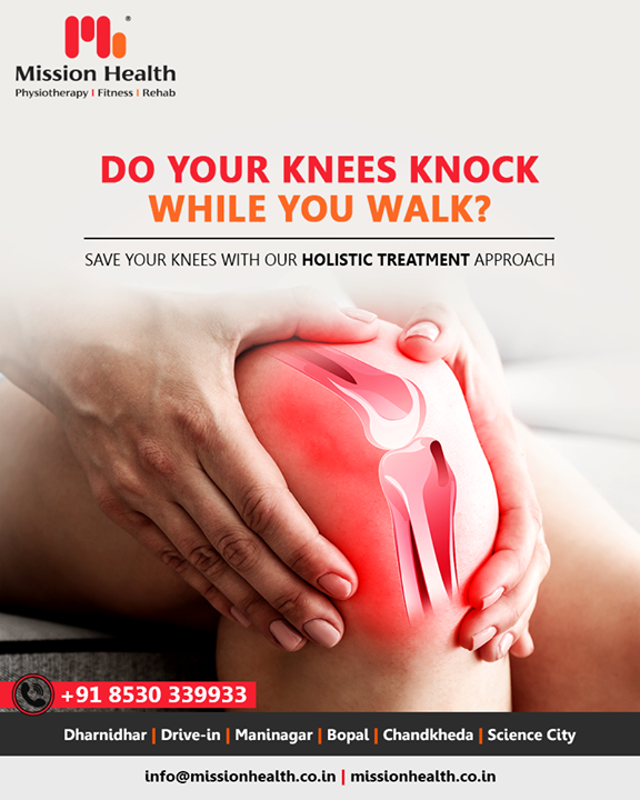 Do you have pain in your Knee while walking? Save your Knee with our advanced Rehabilitation Strategies.  #MissionHealth #MissionHealthIndia #fitnessgoals #MovementIsLife #PersonalTraining #weightmanagement #fitness