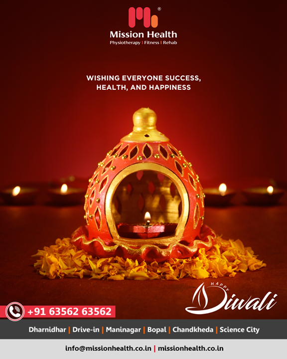 Wishing everyone success, health and happiness  #HappyDiwali #IndianFestivals #Celebration #Diwali #Diwali2019 #FestivalOfLight #FestivalOfJoy #MissionHealthIndia #AbilityClinic #MovementIsLife