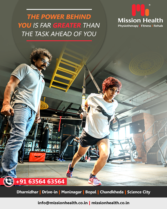 "At the onset of this New Year, let us commit to ""Fitness For Self"". Highly qualified and experienced trainers and instructors at Mission Health are equally committed to guiding you for your everyday workout and fitness sessions.     #Fitnessgoals #Newyearresolution #Healthgoals #Fitnessmygoal #Myworkout #Customisedworkouts #Personalfitnesssession #MissionHealth #MissionHealthIndia #MovementIsLife #AbilityClinic"