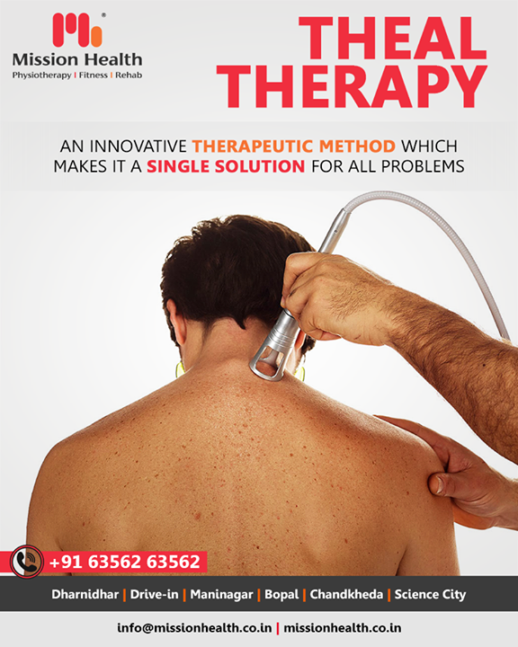 THEAL Therapy is an advanced therapeutic method that is innovative and patented and allows the elimination of pain effectively, rapidly and safely. Pain is the main reason why the patient seeks medical help. The removal of pain increases the quality of life and allows operators to take a natural approach to rehabilitation, which makes treatment more comfortable for the patient.  #ThealTherapy #MissionHealth #MissionHealthIndia #MovementIsLife #AbilityClinic