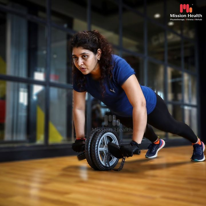 Crush that Stubborn TUMMY FAT with The AB WHEEL Workout.  Challenge your Core, Obliques, Gluts & Lower Back. Feel the burn in minimum reps and get those desired ABS...  Fat Loss & Fitness Offers at Mission Health Fitness Boutique are on, have you enrolled?  Call: +916356463564 Visit: www.missionhealth.co.in  #absworkout #absworkouts #bellyfatworkout #coreworkout #coreworkouts #flatabs #lowerback #lowerbackworkout #fatloss #fatlossworkout #fatlosshelp #fitness #Fit #FitLife #HealthyLife #Health #MissionHealth #MissionHealthIndia #MovementIsLife