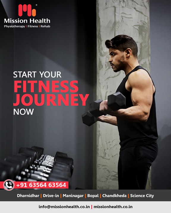 We are Ahmedabad's finest fitness boutique where expert Sports Physiotherapists and Fitness Coaches come together to form new rules of Fitness. From Loaded Movement Training to HIIT, 3D Fusion Fitness to Crossfit, Unique Group Workouts to Dance, Yoga & beyond, we are here to change the future of Fitness & Health in a dynamic and energetic space that inspires Sweat.   Call: +916356463564 Visit: www.missionhealth.co.in  #exercise #exercises #fitnessexperts #fitnessexpert #fitnessteam #gymoholic #winterworkouts #fitness #winterfitness #befit  #fitnessoffers #goslim #MissionHealth #MissionHealthIndia #MovementIsLife