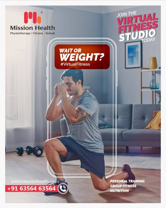 Make yourself stronger than your excuses...  Don't wait now, Join the Virtual Fitness studio today@ Mission Health ...  Personal Training/Group Fitness/Diet Plan available online...  Call: +916356463564 Visit: www.missionhealth.co.in  #virtualfitnessstudio #fitnessstudio #virtualfitnesss #befit #gymoffers #fitnessoffers #silmmingpackages #weightmanagement #weightreductionoffers #weightreduction #inchloss #inchlossoffers #inchlossworkouts #goslim #MissionHealth #MissionHealthIndia #MovementIsLife #AbilityClinic