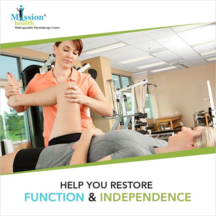 Neuro Rehabilitation aims at recovery from nervous system injury and to compensate for functional alterations. #MissionHealth #Treatment #Physiotherapy #NeuroRehabilitation  For more details, call us at - 7622811811/8530720720 or visit us – www.missionhealth.co.in
