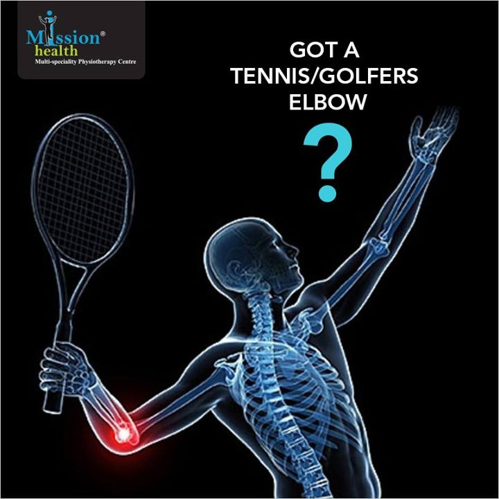 Forearm muscles overused? #MissionHealth #Treatment #Physiotherapy #ForearmMuscles #GolfersElbow #TennisElbow For more details, call us at - 7622811811/8530720720 or           visit us – www.missionhealth.co.in