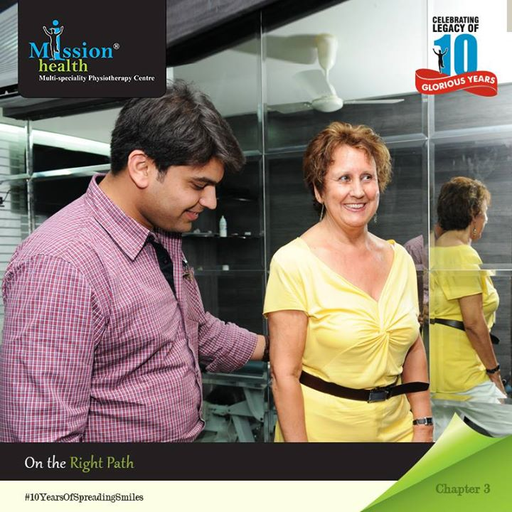 When you dream a new dream, you wait for the positive signs of response. You want to know you are doing the right thing.   Mission Health knew it was on the right path when it got the overwhelming response from patients. People had faith in their expertise and care; they started arriving from near and far, from across the globe for their Specialized Physiotherapy &  Rehabilitation at Mission Health.   They soon began their 2nd branch in 2009 at Drive-In and third one in 2011 at Maninagar.  Watch this space as the beautiful journey of Mission Health unveils.  For more details - Visit us –www.missionhealth.co.in  Call us at - 7622811811 / 8530720720  Stay Healthy, Stay Fit.  #MissionHealth #10YearsOfSpreadingSmiles #Ahmedabad #Mumbai #India #Journey #Success #Decade #Anniversary #StoryOfMissionHealth #Chapter #Three