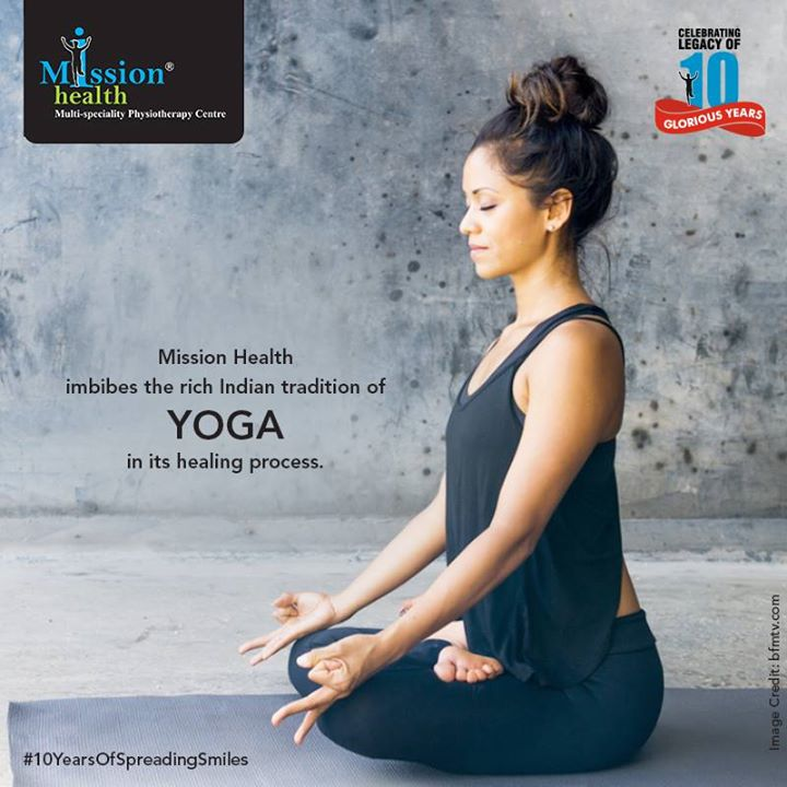 Yoga has never been as important as it is in today's stressful and hectic life. The United Nations dedicated this day to India's rich tradition of yoga. We, at Mission Health, uphold this tradition in modern health care.  Celebrating the legacy of 10 glorious years!  Know more about us at –www.missionhealth.co.in  Call us on - 7622811811 / 8530720720  Stay Healthy, Stay Fit.  #MissionHealth #10YearsOfSpreadingSmiles #Ahmedabad #Decade #Anniversary #InternationalDayOfYoga #YogaDay #Yoga
