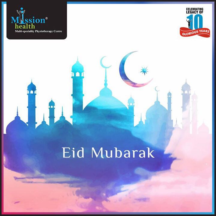 As the moon lights up the blessed sky, Mission Health wishes everybody a joyous Eid Mubarak.  Celebrating the legacy of 10 glorious years!  Know more about us at –www.missionhealth.co.in  Call us on - 7622811811 / 8530720720  Stay Healthy, Stay Fit.  #MissionHealth #10YearsOfSpreadingSmiles #Ahmedabad #Decade #Anniversary #EidMubarak