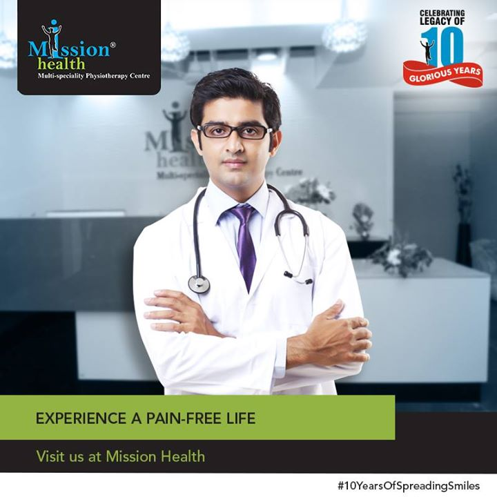 It has been a happy journey for the last 10 years at Mission Health. Celebrate with us and visit us at Mission Health to experience a pain-free life.  Celebrating the legacy of 10 glorious years!  A decade of success stories.  For more details - Visit us –www.missionhealth.co.in  Call us at - 7622811811 / 8530720720  Stay Healthy, Stay Fit.  #MissionHealth #10YearsOfSpreadingSmiles #Ahmedabad #Mumbai #India #Success #Decade #Anniversary #StoryOfMissionHealth