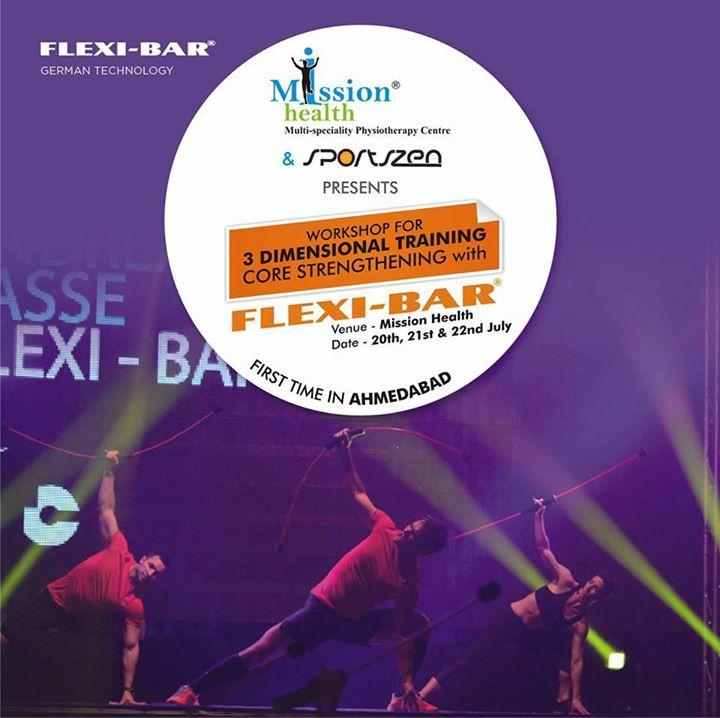 Ahmedabad Get Ready for Finest Fitness Experience...Flexi-Bar (Germany) Workshop @ Mission Health...3 Dimensional Training...Core Activation...Entry By Invitation... For more details visit us - www.missionhealth.co.in Call us at - 7622811811 / 8530720720 #MissionHealth #Ahmedabad #Fitness #Healthylife  #India