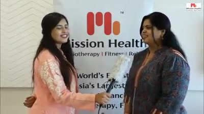 Asia's Largest & Most Advanced Physiotherapy, Fitness & Rehab facilities now @ Mission Health Ahmedabad...see what our patrons have to say... Health Line: +916356263562