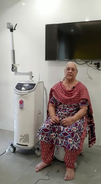 Urinary incontinence ...???  Traditional Kegel exercises not working???  Well you are not alone!!!  Bringing the revolutionary  approach which can treat urinary leakage without any surgery or medicines...  And the most comfortable treatment you have ever taken!!   Mrs Dina Parmar, Age 72 years got cured of her urinary leakage issues...!  For more details Call 6356595959  #urinaryincontinence  #MissionHealth  #bestphysiotherapyclinicinahmedabad  #urinaryleakage  #explorepage✨  #instadaily  #awareness  #healthylifestyle  #viralpost  #usefultips