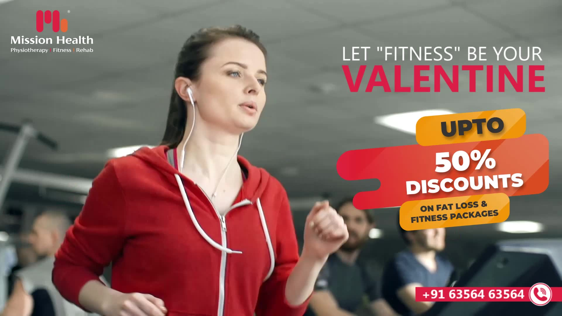 YOU are your First Love... Gift a year-long Health & Fitness Gift to yourself and your loved ones today on this Valentine Day  Up To 50% Discounts on Fitness Packages  Visit your nearest Mission Health Fitness Boutique  Call: +916356463564 Visit: www.missionhealth.co.in  #valentinefitnessoffer #exercise #exercises #fitnessexperts #fitnessexpert #fitnessteam #gymoholic #winterworkouts #fitness #winterfitness #befit #gymoffers #fitnessoffers #goslim #MissionHealth #MissionHealthIndia #MovementIsLife
