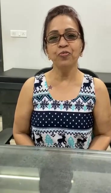 Mrs. Rita Kapadiya, at the age of 57 years suffered from cervical spondylosis and back pain since many years..   After being treated by Class lV Laser, Decompression Therapy System and Mission Health Advanced Exercise protocols she expresses how she feels after 20 sessions..  #physiotherapy #happypatients #rehab #cervicalspondylosis #backpainrelief #lasertreatment #feedback