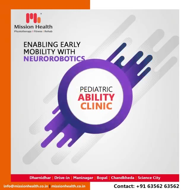 Our Ability Clinic is equipped with the best combination of most advanced Neuro Rehabilitation Technologies and Robotics along with Specialized and highly experienced team of Neuro Physiotherapists...  #RoboticsInNeuroRehab #EarlyMobilityAndVerticalization #RoboticsinNeurophysiotherapy #Neurophysiotherapy #MissionHealth #MissionHealthIndia #AbilityClinic #MovementIsLife