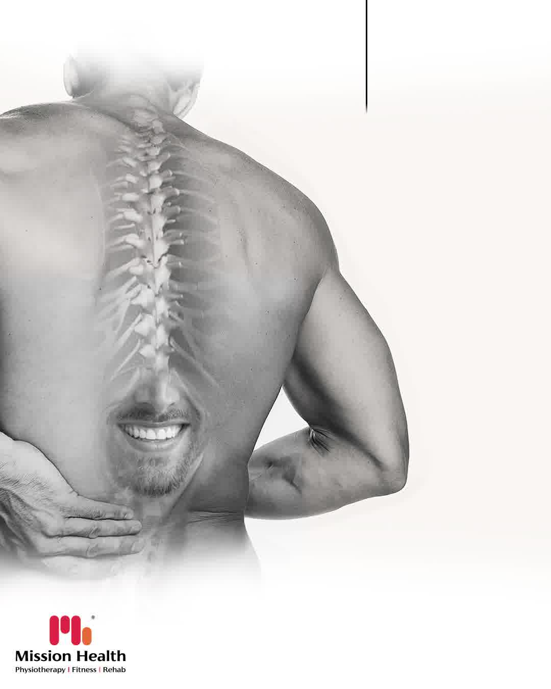 In majority of the people, slipped discs are the result of wear and tear. Over the years, the spinal discs tend to lose their elasticity, hence the fluid gets leaked out and they become brittle and cracked. These changes are a normal part of the aging process but it greatly varies from person to person.  The worst part about the problem is that the herniated disk or the slip disk happens without giving any prior notions of its occurrence.   Not every disc requires intervention but about 2-5% of the slip disc do require the intervention & ailment.  Although it is a serious health disorder that brings a lot of lifestyle changes; 95-98% of Slip Disc can be cured and reversed with right physiotherapy treatment.  Sympathy cannot reverse slip disk but the right treatment CAN.  Consult our Super speciality Spine clinic to get your slipped disc reversed.  Mission Health Helpline Number: +916356263562  www.missionhealth.co.in  #SlippedDisc #SpineSpecialist #MissionHealth #Fitness #PersonalTraining #MovementIsLife