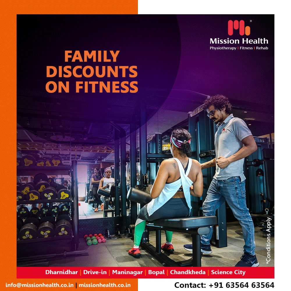 Why stay fat when you can be fit and fabulous?   Grab flat 50% off on our varied fitness packages and stay fit & fearless   #FitnessOffers #JuneOffers #GetFit #MissionHealth #MissionHealthIndia #Physiotherapy #Rehab #fitnessRehab #AbilityClinic #MovementIsLife