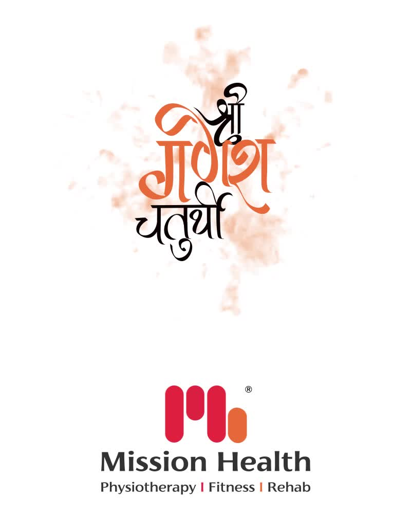 May Vighnaharta bestow you with good health. Happy Ganesh Chaturthi  #HappyGaneshChaturthi #GaneshChaturthi2020 #GanpatiBappaMorya  #Ganesha #GaneshChaturthi #IndianFestival #Missionhealth #MissionHealthIndia #MissionHealthSportsClinic