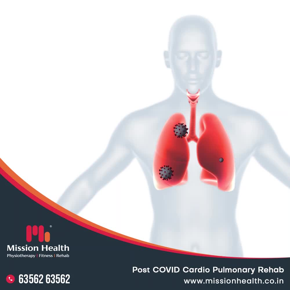 A lot has been harmed and a lot been damaged due to COVID-19.  But now it is the high time to undo the damages & improve your lungs capacity. It's time to work on Cardio Pulmonary Stamina. It's time to regain muscle strength. It's time to get back to normalcy & normal life.  Get in touch with Mission Health to get the best in town Post Covid Cardio Pulmonary Rehabilitation services.  Call +916356263562 www.missionhealth.co.in  #PulmonaryRehab #PulmonaryRehabilitation #UndoTheDamage #FightBack #BackToNormal #CardioRehab #Rehabilitation #MissionHealth #MissionHealthIndia #MovementIsLife