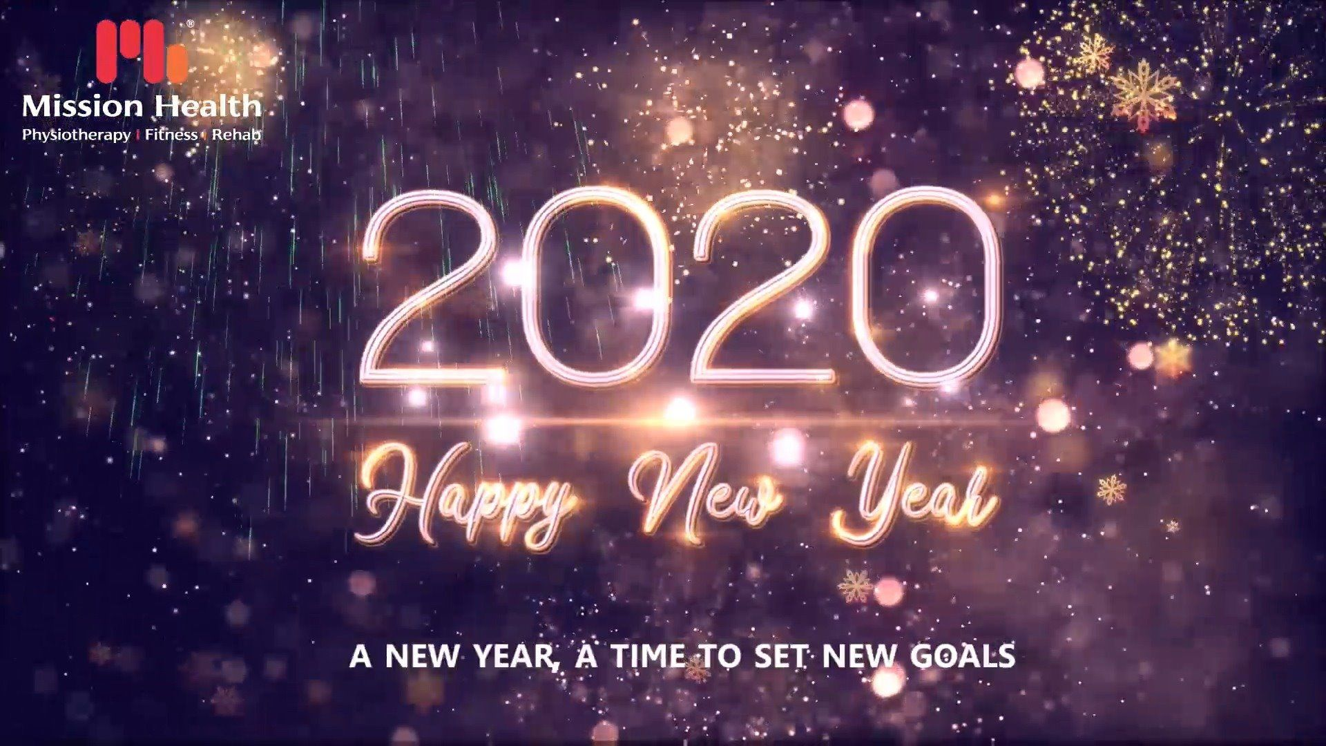 A Happy New Year to all our Patrons. May year 2020 be a Joyful Journey of Health Wealth & Happiness  #NewYear2020 #HappyNewYear #NewYear #Happiness #Joy #2k20 #Celebration #MissionHealth #MissionHealthIndia #MovementIsLife