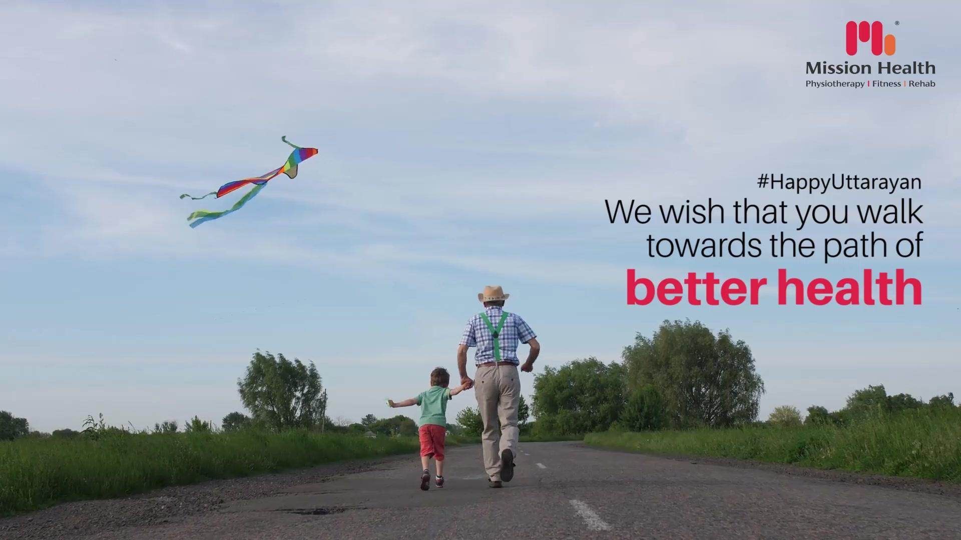 This Makar Sankranti, we wish that you walk towards the path of better health.  #HappyUttarayan #MakarSankranti2020 #MakarSankranti #Kites #KitesFestival #Uttarayan #Uttarayan2020 #KiteFlying #CelebrationTime #MissionHealth #MissionHealthIndia #MovementIsLife #AbilityClinic