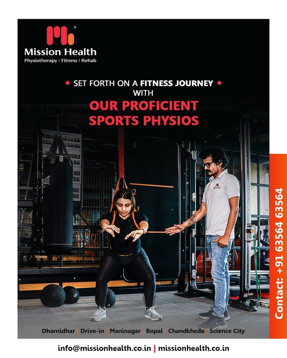 Embark upon your fitness journey with our Proficient Sports Physios!  #ProficientSportsPhysios #GetFit #MissionHealth #MissionHealthIndia #fitnessRehab #AbilityClinic #MovementIsLife #weightloss #fitness #fitnessoffer #weightmanagement