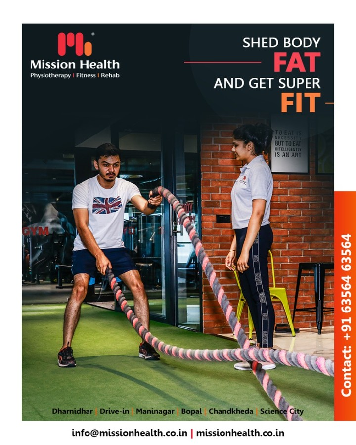 Shed more body fat & stay super fit with Mission Health!  #GetFit #MissionHealth #MissionHealthIndia #fitnessgoals #MovementIsLife #PersonalTraining #weightmanagement #fitness
