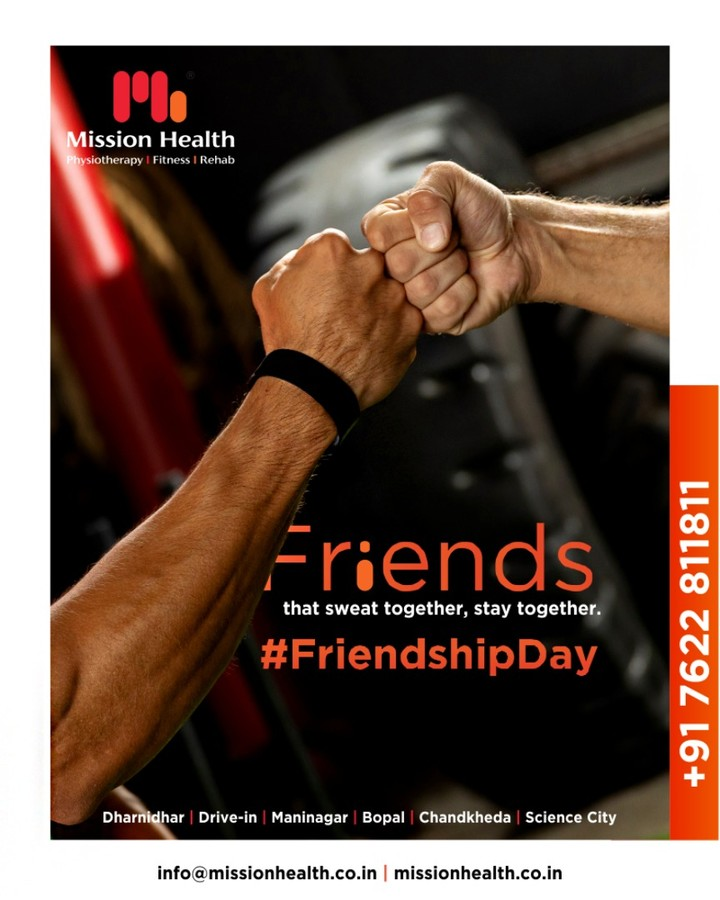 Here's wishing a #HappyFriendshipDay to one and all!  #InternationalFriendshipDay #FriendshipDay #FriendshipDay2019 #HappyFriendshipDay #Friends #MissionHealth #MissionHealthIndia #AbilityClinic #MovementIsLife