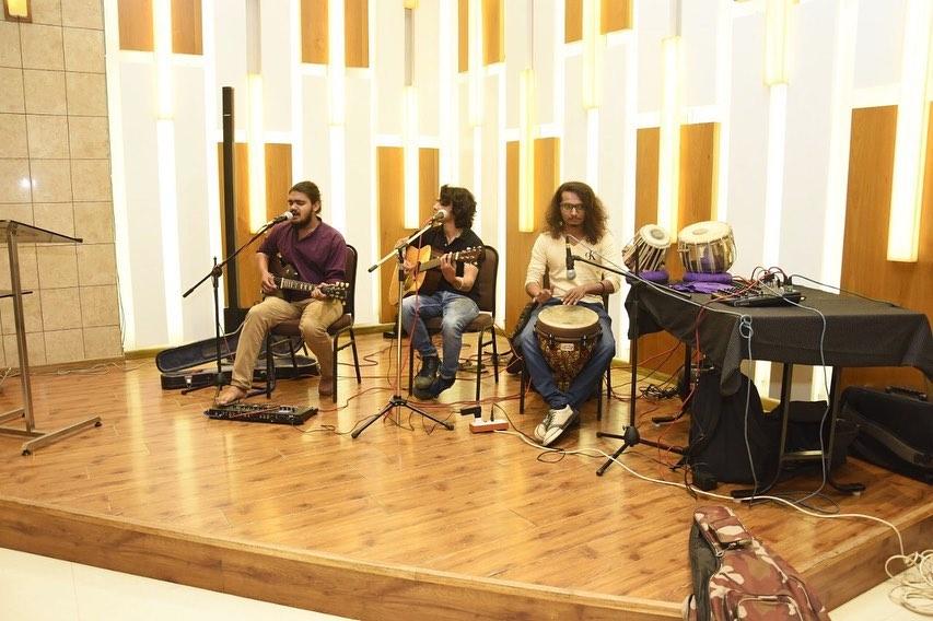 "Music – Lights - Live Rock Band – Dance Performances – Rap Songs… A truly electrifying night where Doctors turned Dancers on songs like, ""Kamariya"", ""Odhani"", ""Khalibali"", ""Syko Saiyan"", ""Ganpati Bappa Moriya""… Go with the Flow and The Team Tale of Mission Health Continues…  #MissionHealth #MissionHealthIndia #MissionHealthTeamRocks #RockstarPhysios #MoreThan250ChampionsInTheLeague #WeTheMissionHealth #AmazingTeam #MissionHealthFamily #PartyTime #RockBandLive #DorctorsDance #MusicNight #DancingDivas #LetsCelebrate #TeamSprit #EmployeeEngagement"