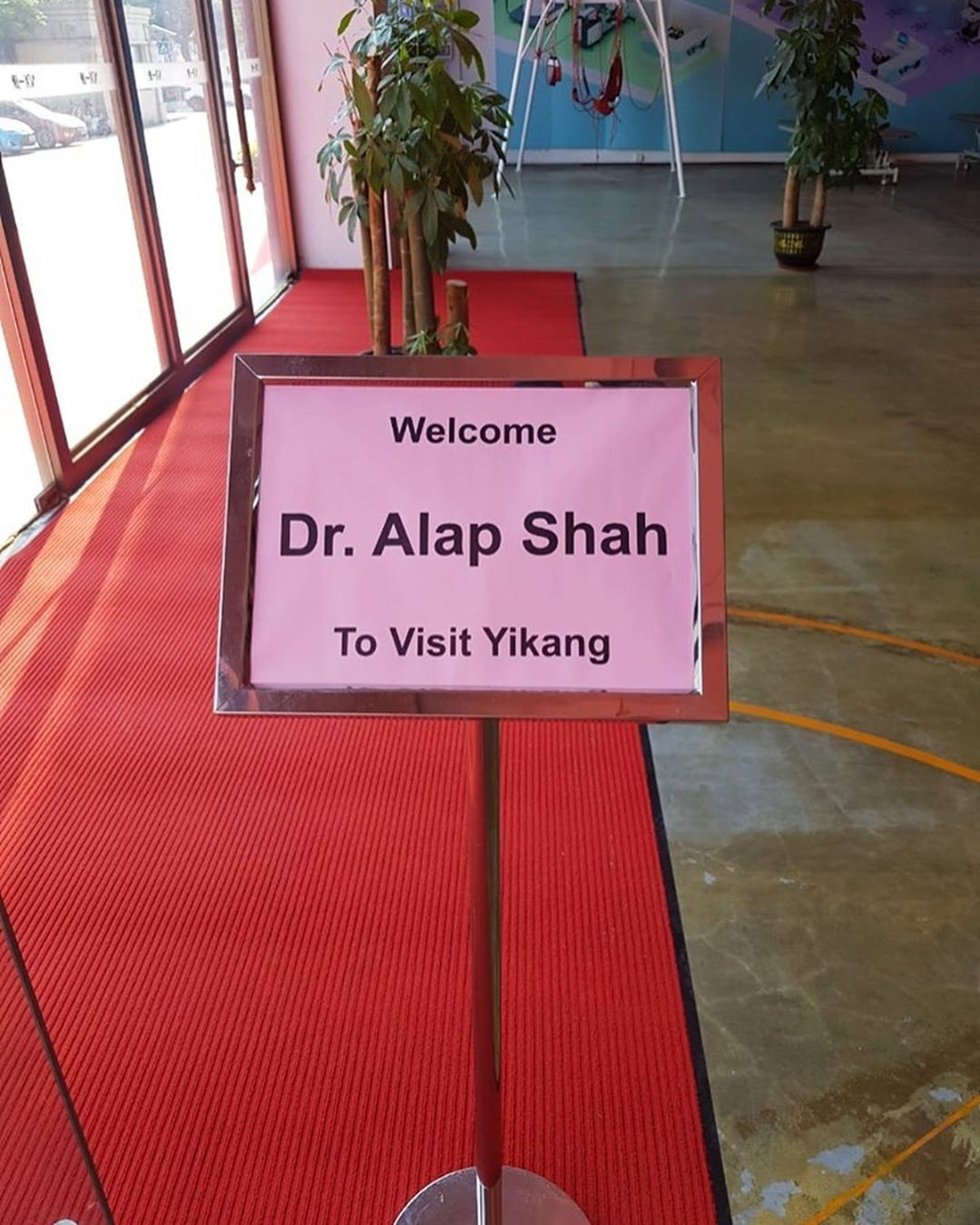 "Xie Xie China for a warm welcome and hospitality... Our Founder & Director Dr. Aalap Shah had a wonderful discussion on ""Advances in Neuro Rehab Technologies"" with Physical Therapists of Macau & Lady Jean Xing.  Time for New Beginning & Association!  #Newbeginning #Happyfaces #Newassociation #Neurorehabtechnologies #MissionHealth #SpecializedPhysio #Trendsetter  #NeuroPlasticity #AbilityClinic #RehabSuites #GlobalTraining #MovementIsLife"