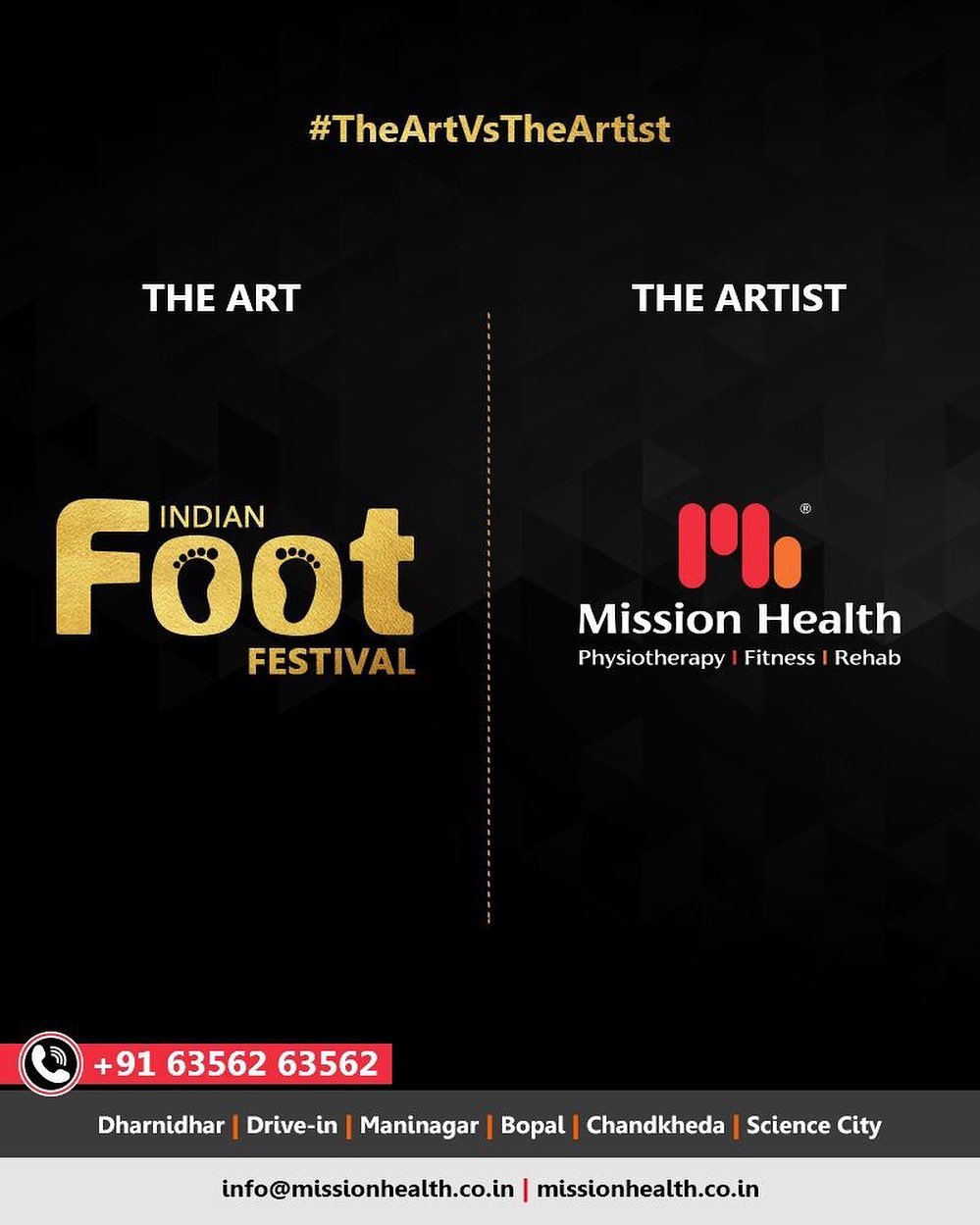 At the Indian Foot Festival by Mission Health, you can have a comprehensive look at the Foot & Lower Limb Biomechanics... The Indian Foot Festival is coming soon... Keep Reading this space for more updates!  Call: +916356263562 Visit: www.missionhealth.co.in  #IndianFootFestival #ComingSoon #FootClinic #footpain #footcare #foothealth #heelpain #anklepain #flatfeet #painrelief #healthyfeet #happyfeet #MissionHealth #MissionHealthIndia #MovementIsLife