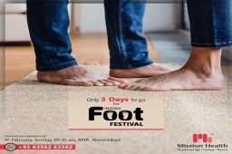 Get Your FREE Entry Pass for the Indian FOOT Festival by Mission Health  Look l Check l Click l Share  Passes available at all Mission Health Branches  Call: +916356263562 Visit: www.missionhealth.co.in  #IndianFootFestival #ComingSoon #FootClinic #footpain #footcare #foothealth #heelpain #anklepain #flatfeet #painrelief #healthyfeet #happyfeet #MissionHealth #MissionHealthIndia #MovementIsLife