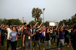 Till your eyes can see... ATP FITNESS CONCERT BY MISSION HEALTH...More than 5000 fitizens...Memory Lane...Movement is Life