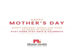 Mom's presence makes our home as good as the heaven.  Stay home, stay safe & celebrate the MOMents of life with her everyday.  #MOMents #MomentsWithMom #StaySafe #StayAtHome #MothersDayCelebration #HappyMothersDay #MothersDay #MomsAreMagical #MomsLove #CelebrateLifeWithMom #MissionHealth